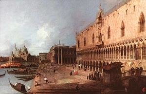 (Giovanni Antonio Canal) Canaletto - Doge Palace c. 1725
