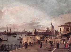 (Giovanni Antonio Canal) Canaletto - Entrance to the Grand Canal- from the West End of the Molo 1735-40