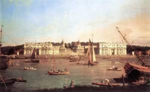 (Giovanni Antonio Canal) Canaletto - London Greenwich Hospital From The North Bank Of The Thames