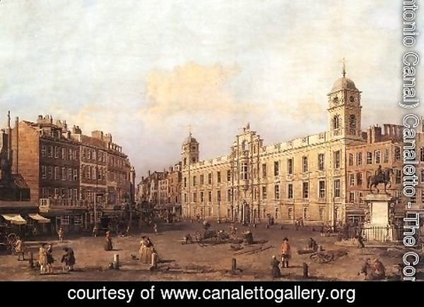 (Giovanni Antonio Canal) Canaletto - London Northumberland House