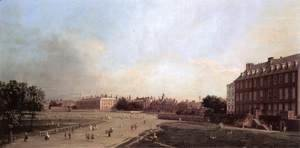 (Giovanni Antonio Canal) Canaletto - London The Old Horse Guards From St James S Park