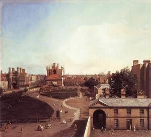 London Whitehall And The Privy Garden From Richmond House