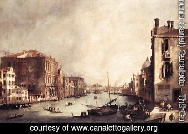 (Giovanni Antonio Canal) Canaletto - Rio Dei Mendicanti   Looking South
