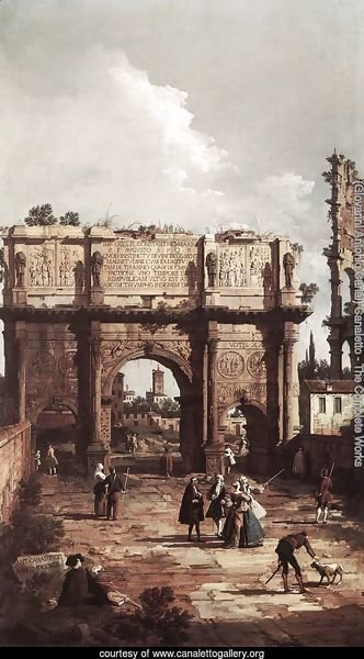 Rome The Arch Of Constantine