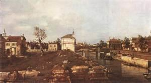(Giovanni Antonio Canal) Canaletto - The Brenta Canal At Padua