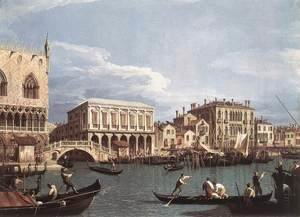 (Giovanni Antonio Canal) Canaletto - The Molo And The Riva Degli Schiavoni From The Bacino Di San Marco