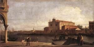 (Giovanni Antonio Canal) Canaletto - View Of San Giovanni Dei Battuti At Murano