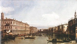 (Giovanni Antonio Canal) Canaletto - View Of The Grand Canal