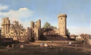 (Giovanni Antonio Canal) Canaletto - Warwick Castle   The East Front