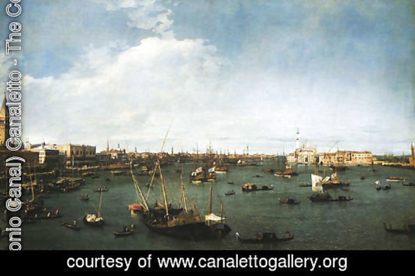 (Giovanni Antonio Canal) Canaletto - Basin of St.Mark